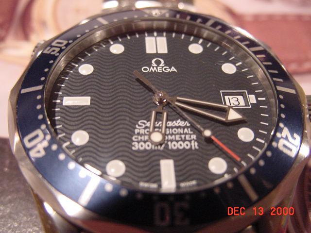 Omega Seamaster Professional Dial